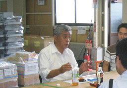 震災発生の翌日に建設を決断した多田欣一町長